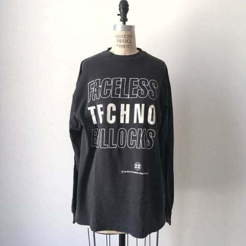⭕ 90s Vintage Rising High Record shirt  techno aph
