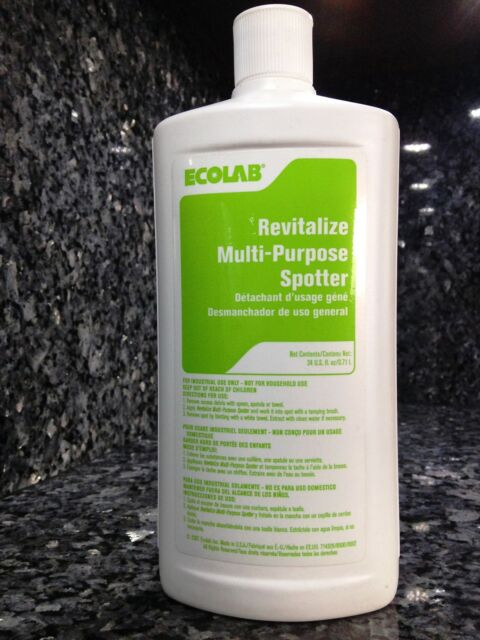 Ecolab Revitalize Multi Purpose Spotter Carpet Spot