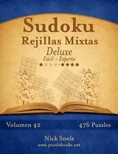 Sudoku: Sudoku Rejillas Mixtas Deluxe - de Fácil a Experto - Volumen 42 - 476...