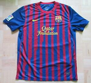 d9a4ee3969e BARCA Nike FC Barcelona home Shirt jersey Blaugrana 2011-12 trikot ...
