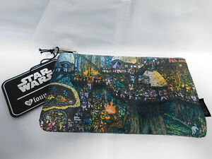 LOUNGEFLY-STAR-WARS-EWOK-VILLAGE-COSMETIC-BAG-POUCH-BRAND-NEW-FUNKO