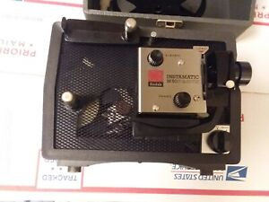 Vintage-Kodak-Instamatic-M50-Super-8-Movie-Projector-WITH-ORIGINAL-CARRYING-CASE