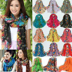 Womens-Ladies-Printed-Cotton-Warm-Long-Scarf-Stole-Shawl-Wrap-Soft-Voile-Scarves