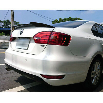 2014 Fit FOR Volkswagen Jetta MK6 DTO V Type Rear Trunk Spoiler Unpainted