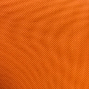 Outdoor Canvas Waterproof Fabric 600 Denier Fabric Orange Upholstery Fabric