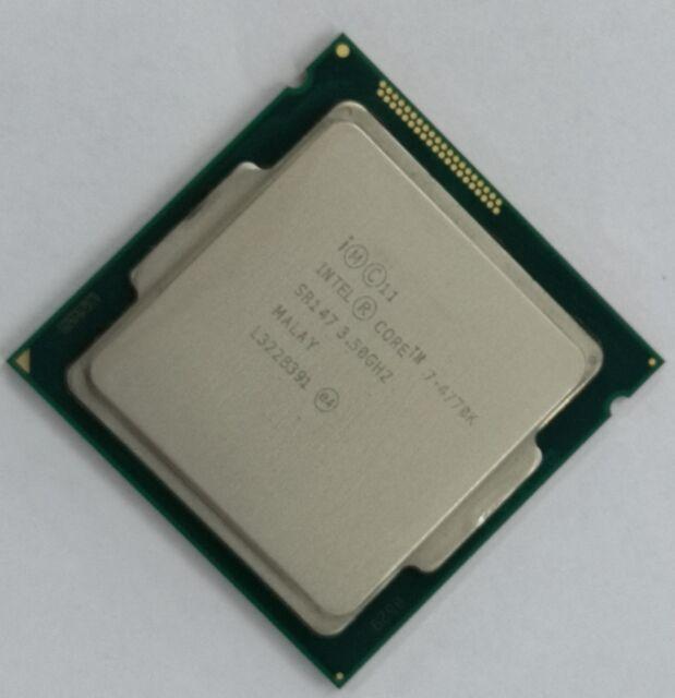 Intel Core i7-4770K Desktop Processor LGA1150 CM8064601464206 Good condition