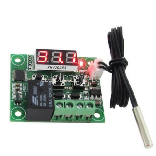NEW W1401//W1209 12V Digital Thermostat Temperature Control Switch Sensor Module