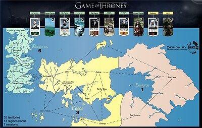 039 Game of Thrones - TV Show Season Drama Series Map 21