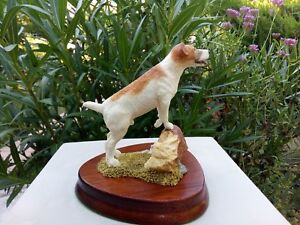JACK RUSSELL SCULPTURE DE COLLECTION WILDTRACK NEUF FAIT MAIN en ECOSSE