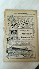 1906-07 SHEFFIELD UNITED v STANTON HILL on 16 March