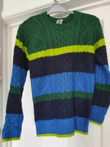 Boys Knitted jumper BNWOT AGE 8-11 years
