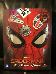 Spider-Man-Far-From-Home-4K-3D-Blu-Ray-Steelbook-Full-Slip-A1-Weet-Collection