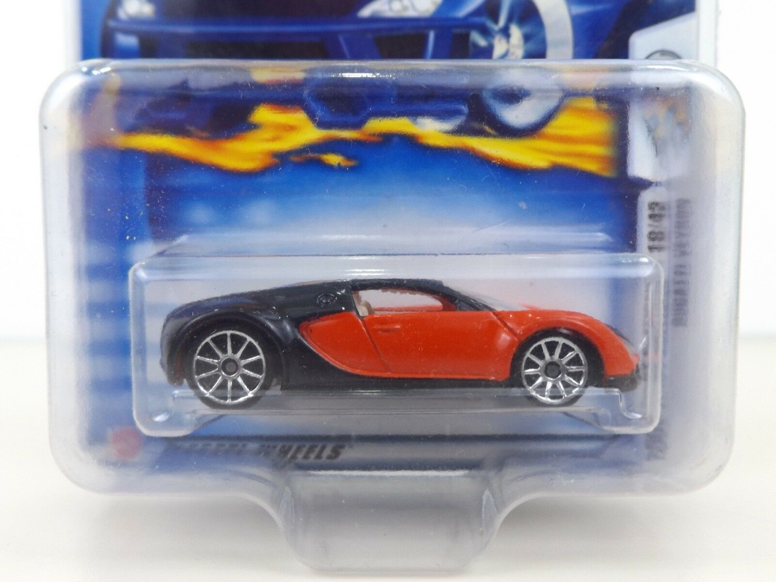 2003 Hot Wheels Bugatti Veyron    30 rosso In Prossoecto-Pak (11) 1bc76a