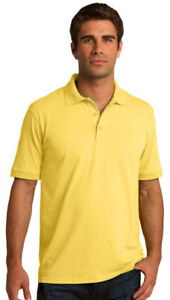 Port-amp-Company-Men-039-s-Big-amp-Tall-Casual-Short-Sleeve-Golf-Polo-T-Shirt-KP55T