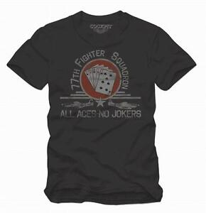 T-Shirt-All-Aces-No-Jokers-COCKPIT-USA-ex-AVIREX