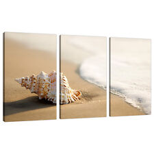 3 Panel Wall Art Beach Canvas Pictures Bathroom Bedroom Prints 3146