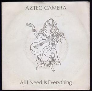 AZTEC CAMERA 45 GIRI ALL I NEED IS EVERYTHING B/W JUMP COVER VAN HALEN - ITA - Italia - AZTEC CAMERA 45 GIRI ALL I NEED IS EVERYTHING B/W JUMP COVER VAN HALEN - ITA - Italia