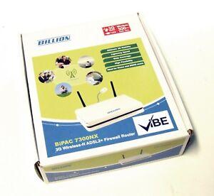 Billion 7300nx Bipac Wireless 3 G Fail Over Adsl 2+ Modem Routeur-afficher Le Titre D'origine