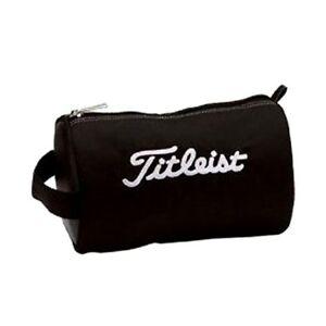 Titleist-Japan-Golf-Ball-Pouch-Bag-Carry-Case-PCH9-Black-New-H