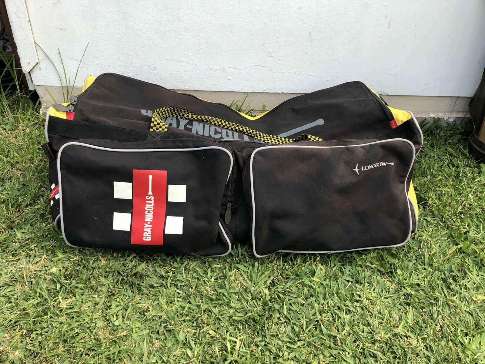 Gray Nicholls Long Bow Cricket Bag Carry Kit Sports large