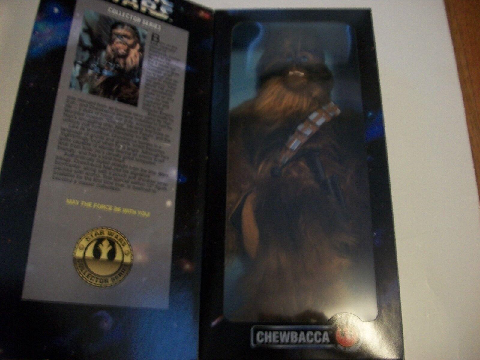 Star Wars Chewbacca 12 in (environ 30.48 cm) Figure Kenner 1996 jamais retiré de la boîte