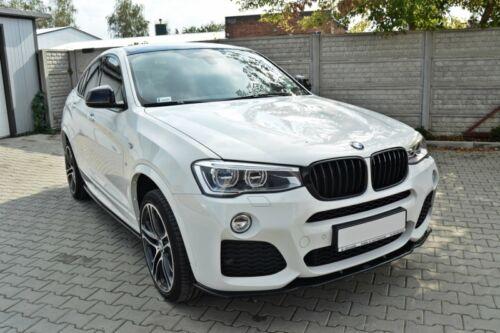 Cup Spoilerlippe schwarz für BMW X4 F26 Lippe Spoiler Diffusor schwert M Paket