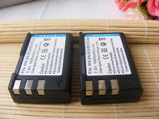 2x 1600mah EN-EL9 Battery Pack for Nikon EN-EL9A EN-EL9 D5000 D3000 D40 D60