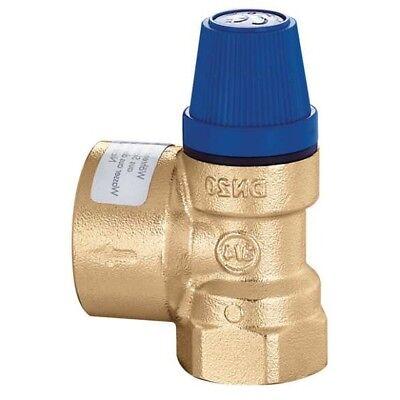 Sicherheitsventil 1,5 bis 10 bar Überdruckventil Heizung 1//2 IG x 1//2 IG Pro NEU