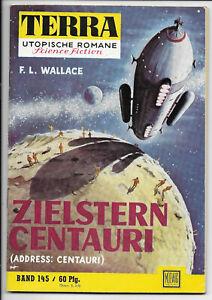 Terra Utopische Romane Nr.145 - TOP Z1 Original Science Fiction MOEWIG-ROMANHEFT