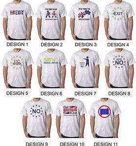 European Union T Shirt - EU Exit - Brexit - EU Out Campaign  EU Referendum Leave