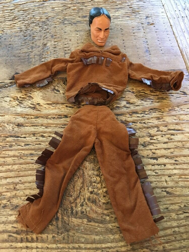 Captain Action Ideal Toys 1966 Tonto Mask Costume Disguise Lone Ranger Series