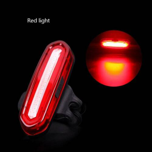 Super Bright LED USB Rechargeable Warning Bicycle Bike Cycling Tail Rear Light..