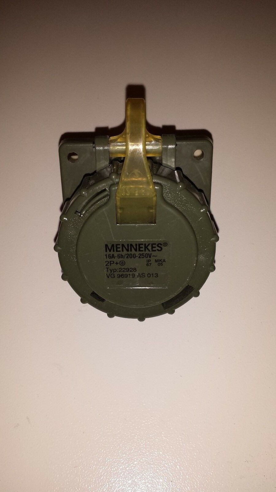 Mennekes 22928 Anbaudose TM 16A 3p 3p 3p 6h 230V IP67 mit Dichtung | Qualitätskönigin  8fbed3