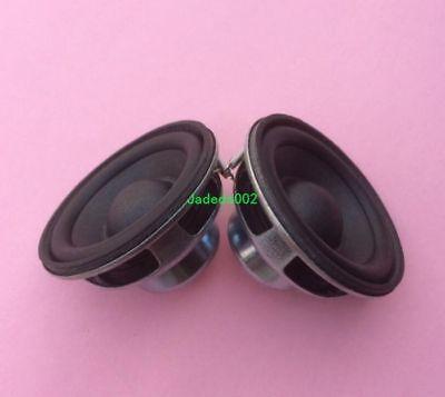 2pcs 45mm full-range speakers 4Ω 5W 4ohm NdFeB magnets loudspeaker PU edge