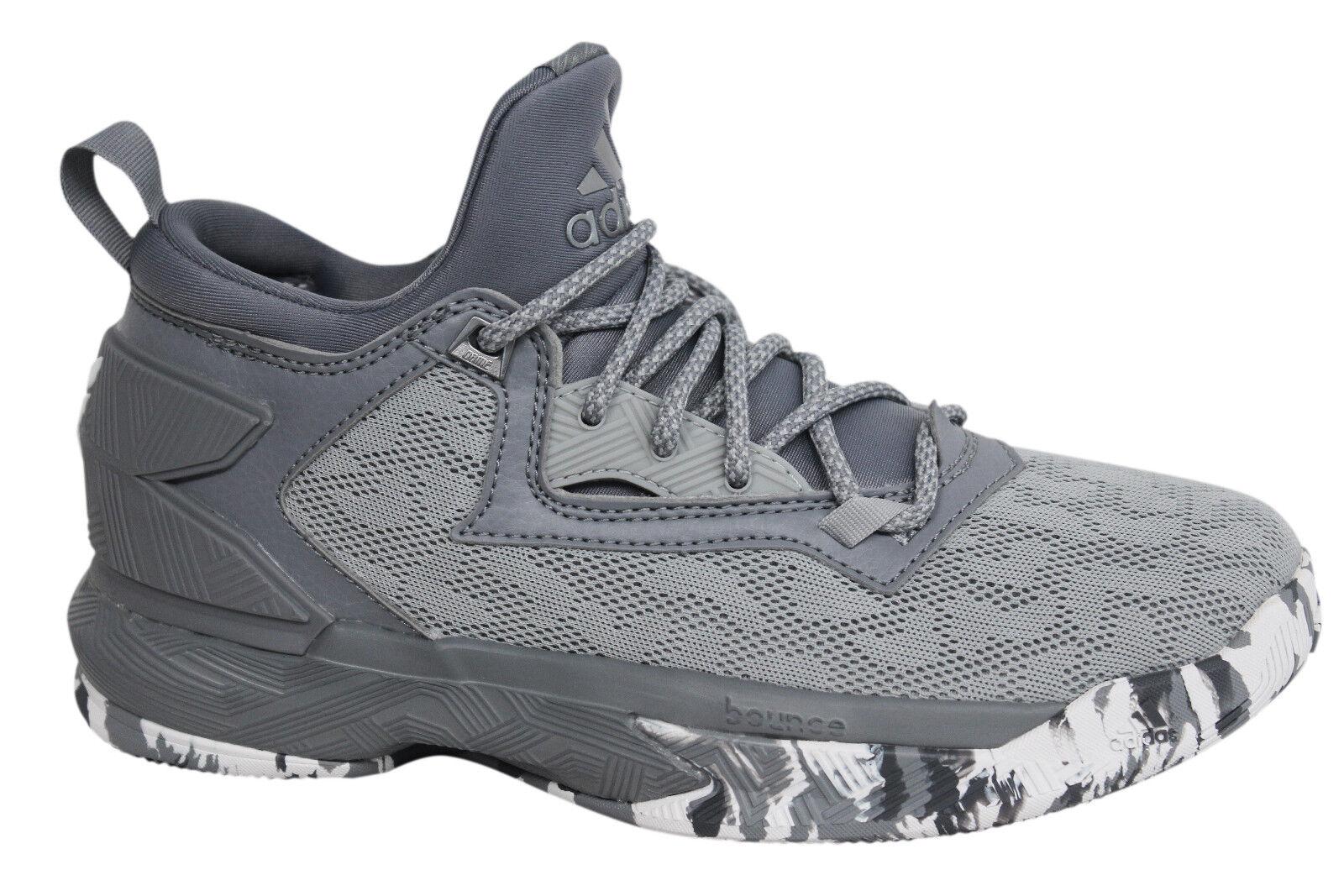 Adidas D Lillard 2 Lace Up GRIS hombre  Basketball formadores b42381 u84