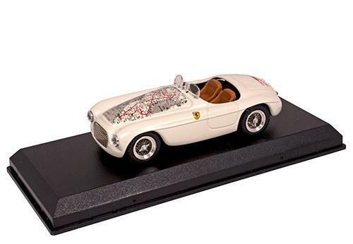 Lorenzi 1 43 Ferrari 166 Spider Mille Miglia 1927-30 Map
