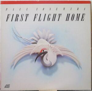 PAUL YONEMURA First Flight Home LP Jazz w/ Yuichiro Honda, on Jazz Mind Records
