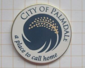 COUNTY-OF-PALMDALE-KALIFORNIEN-USA-Staedte-amp-Laender-Pin-159d