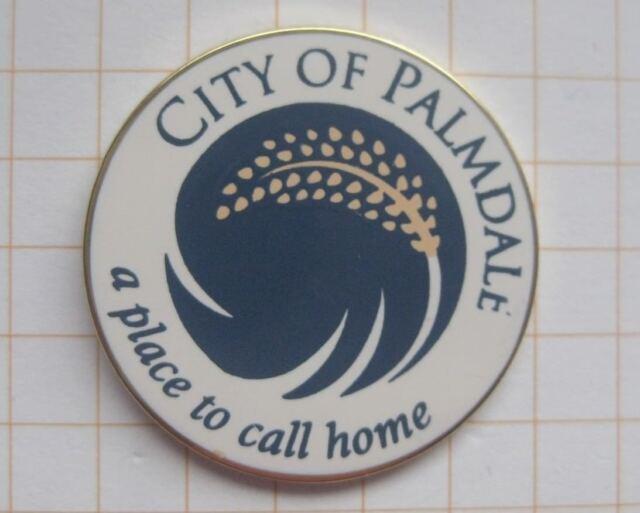 COUNTY OF PALMDALE  / KALIFORNIEN / USA .............Städte & Länder Pin (159d)