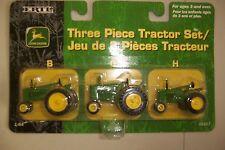 """JOHN DEERE """"B"""" """"G"""" """"H"""" 3-piece set"""