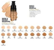 Milani Perfect 2 in 1 Foundation + Concealer 30ml/1 oz-Choose From All 19 Colors