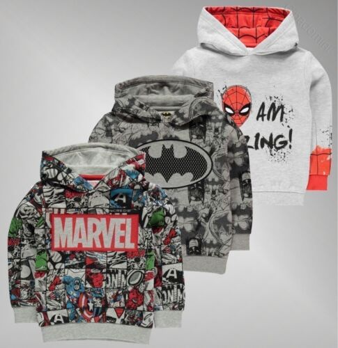 Boys Character Lightweight Soft Fleece OTH Hoodie Sizes Age from 2 to 13 Yrs
