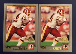 2001-Topps-Collection-248-BRUCE-SMITH-Lot-2-REDSKINS-HOF-LAST-CARD
