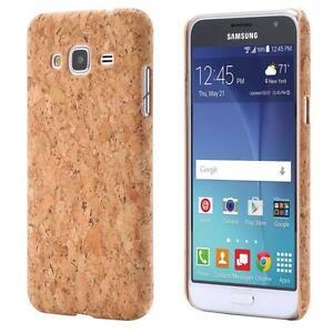 Samsung-Galaxy-J3-2016-LIEGE-HOUSSE-BOIS-NATURE-HARD-CASE-COVER-CAS-COQUE