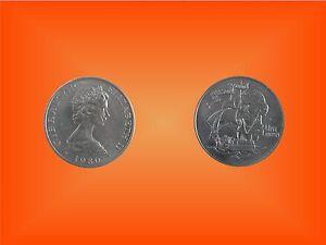"""100% Vrai Pièce Médaille One Crown """"nelson 1758 - 1805"""" Gibraltar Elizabeth 1980-afficher Le Titre D'origine Assurer IndéFiniment Une Apparence Nouvelle"""