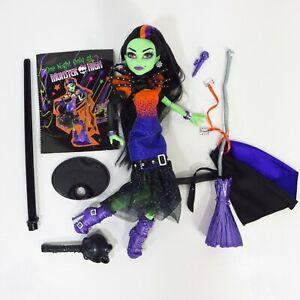 Casta-Fierce-Monster-High-Doll-Diary-Microphone-Broom