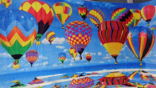 """Hot Air Balloons Beach Bath Towel 40/"""" x 70/"""" Balloon Large Towel"""