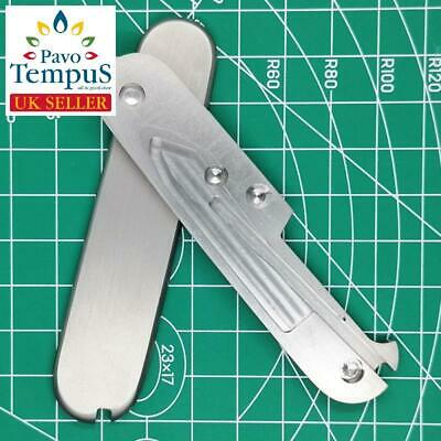 Custom Victorinox Swiss Army Titanium Alloy TC4 Replacement Scale for 91mm