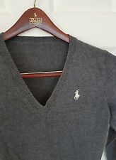 Ladies RALPH LAUREN SPORT merino wool jumper/sweater. Size petite. RRP £135.