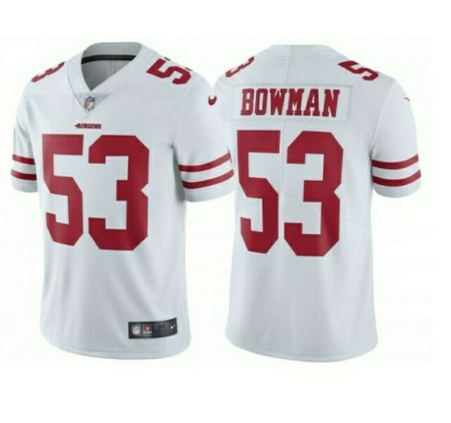 49ers away jersey